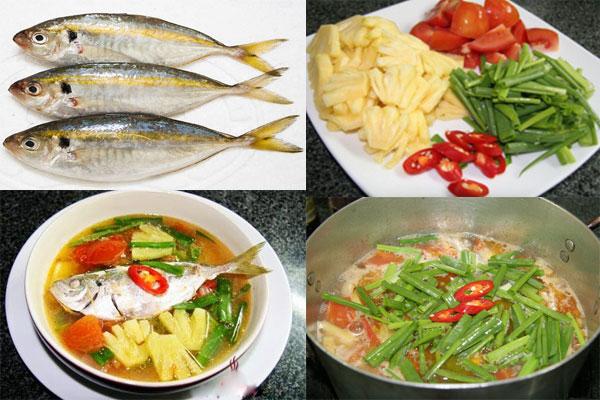 Canh cá chỉ vàng thơm ngon đưa cơm