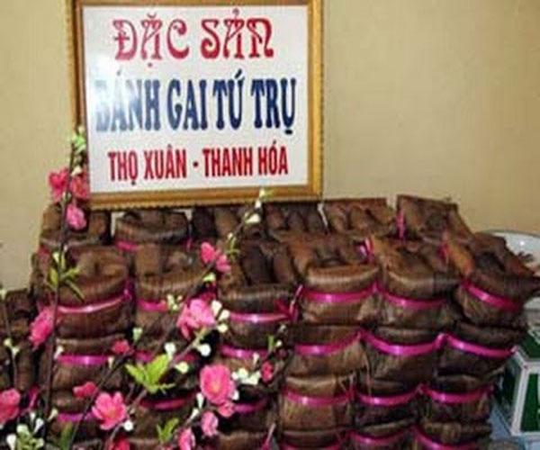 Bánh gai Tứ Trụ Thanh Hóa