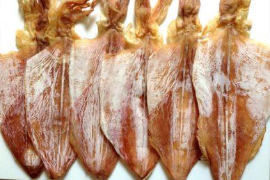Giá mực khô tại thị trường Hà Nội