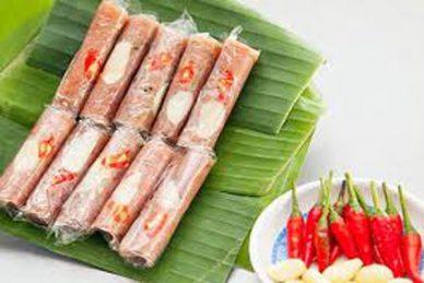 Gói nem chua Thanh Hóa